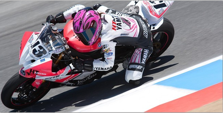 Melissa Paris wildcard en la última prueba del british superbikes