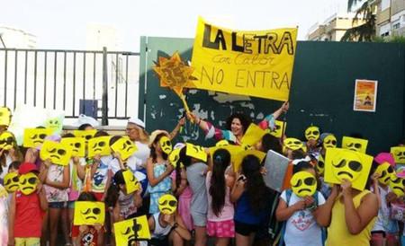 En clase a 37 °C y sin aire acondicionado: el drama creciente de los colegios españoles