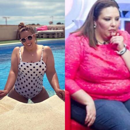 El gran cambio de Lorena Edo ('GH 14'): Pierde 60 kilos y luce tipazo en bikini en su piscina