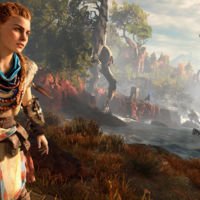 Así luce Horizon: Zero Dawn en un gameplay desde una PS4 Pro
