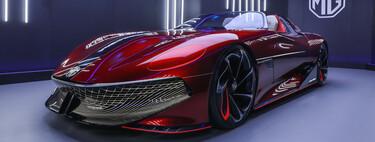 MG libera más imágenes y detalles de Cyberster, el prototipo eléctrico con 800 km de autonomía