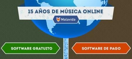 15 años de música online. La imagen de la semana