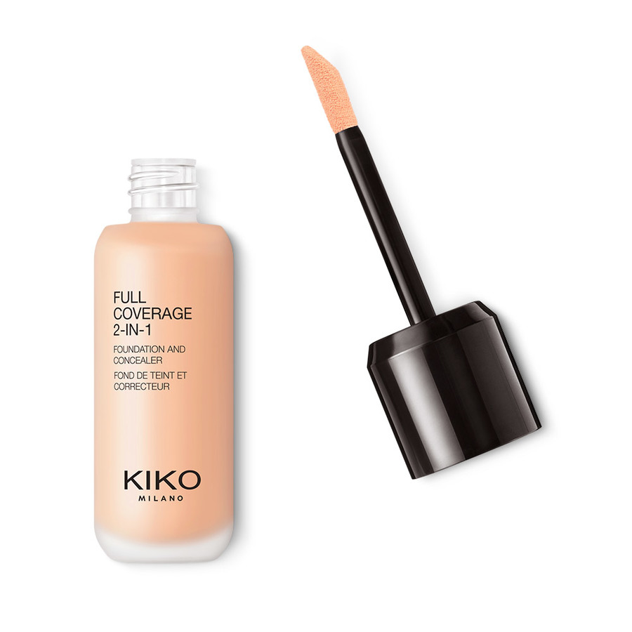 full coverage 2-in-1 foundation & concealer Base de maquillaje y corrector 2 en 1, alta cobertura