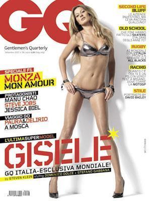 Gisele Bundchen en la revista GQ italiana