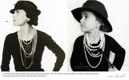 Foto Coco Chanel niña