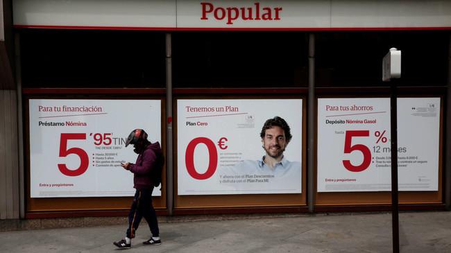 Las razones para intervenir el Popular: el BCE revela parte de su informe secreto