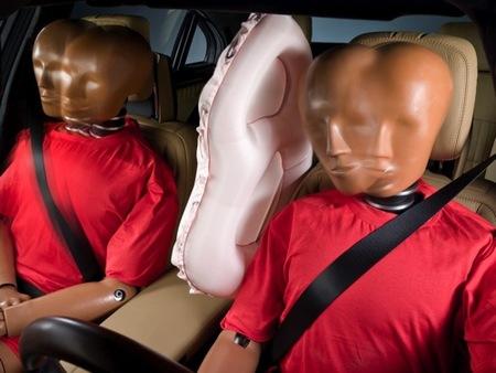 airbag entre asientos