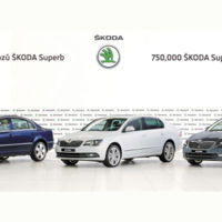 Škoda ya ha fabricado 750.000 Superb