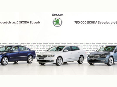 Škoda ya ha fabricado 750.000 Superb