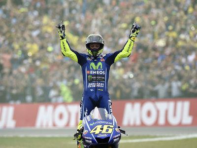 """Un año y 20 días después, Valentino Rossi vuelve a ganar en MotoGP: """"corro con motos por este sentimiento"""""""