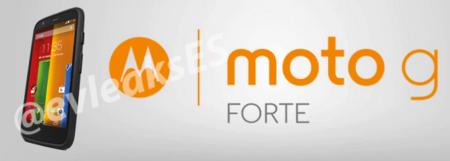 Moto G Forte, se filtra imagen de la nueva versión del exitoso smartphone de Motorola