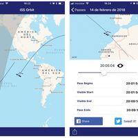 Sat Seeker te permite llevar en el iPhone todo lo necesario para localizar la ISS en el cielo