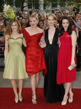 Las chicas de Sexo en Nueva York de premiere en Londres ¿Quién os gusta más?
