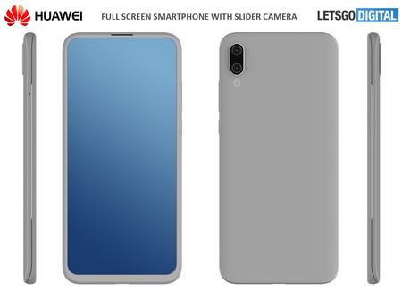 Huawei Smartphone Camara Deslizable
