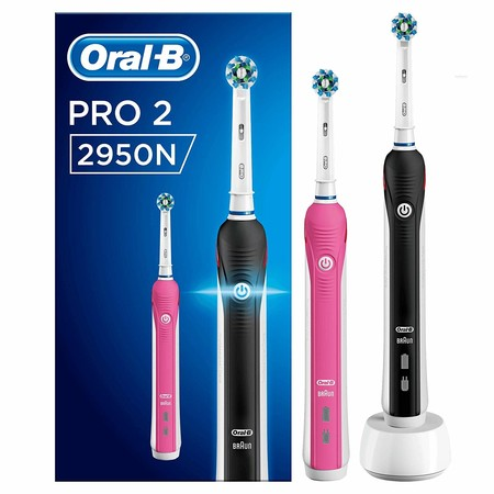 Oferta de Amazon en el set de cepillos eléctricos Oral-B PRO 2 2950N: ahora puede ser nuestro por 62,99 euros