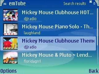 Youtube al completo para Symbian con emTube