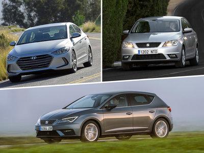 ¿Cuál me llevo? Hyundai Elantra vs. SEAT León 1.4 TSI vs SEAT Toledo 1.0 TSI