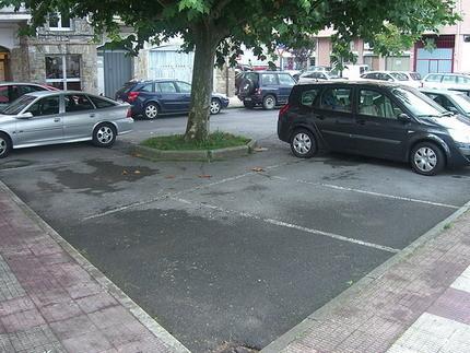 Otra plaza de aparcamiento imposible