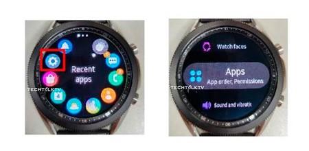 El Samsung Galaxy Watch 3 casi sin secretos: nuevas imágenes reales muestran la interfaz y el diseño