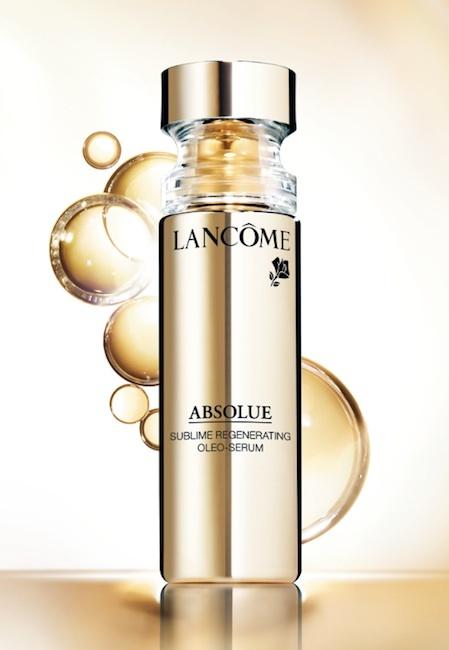 Lancôme lanza un nuevo producto de su línea Absolue: el Oleo-Serum Regenerador Sublime