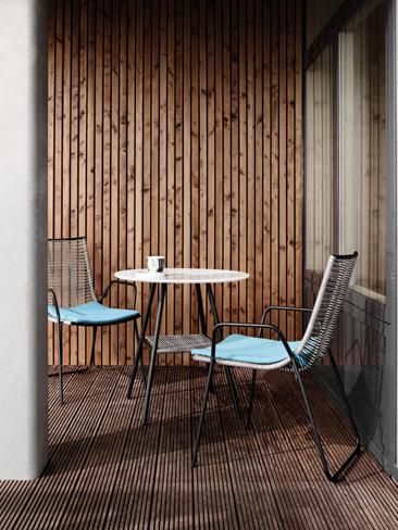 Bo Concept presenta su nuevo mobiliario de exterior inspirado en los años 50
