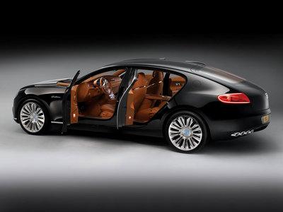 Bugatti sigue pensando en una berlina como futuro modelo y sustituto del Chiron