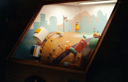 Este hermoso vídeo musical animado nos traslada al viejo mundo de las Penny Arcades