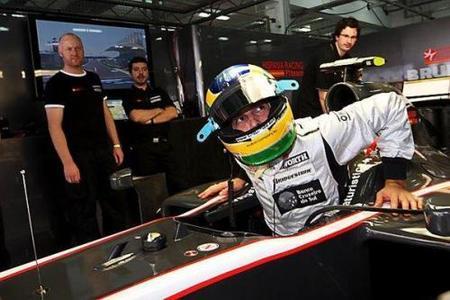 Hispania Racing Team y Bruno Senna ya se han estrenado en Bahréin