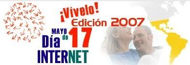 Jueves 17 de mayo, día de Internet