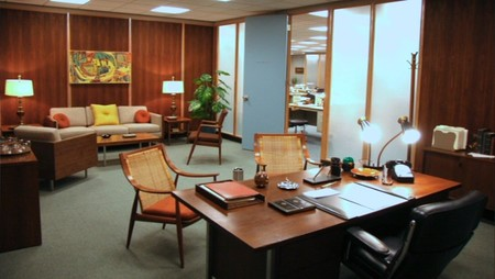 Mad Men Drapers Office 1