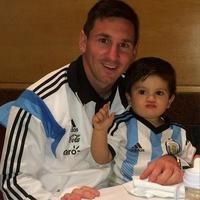Messi ya tiene a su talismán en Brasil: Thiago