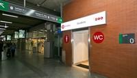Los nuevos y sorprendentes aseos 2theloo en la estación de Atocha