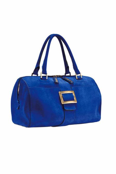 Bolso Roger Vivier azul klein