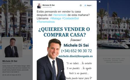 Lo mejor del terremoto en Málaga: descubrir al mayor genio inmobiliario en Internet