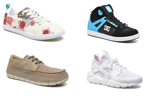 Tallas sueltas de zapatillas Nike, DC Shoes o New Balance en Sarenza. Envío gratis