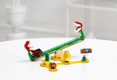 Lego Super Mario Planta Piranha