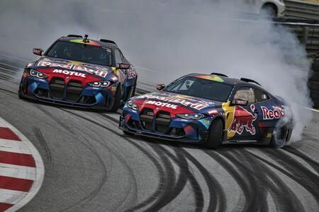 Estos dos brutales BMW M4 Competition de 1.050 CV son la carta de presentación de BMW en el campeonato Drift Masters