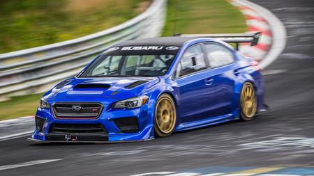 El Subaru WRX STi Type RA NBR Special bate el récord al sedán más rápido de Nürburgring