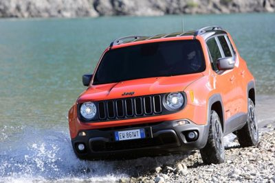 Jeep Renegade Trailhawk y G4MECH4NGER