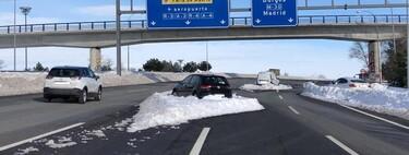 Qué daños cubre el seguro del coche ante una  borrasca como Filomena: lo que debes saber