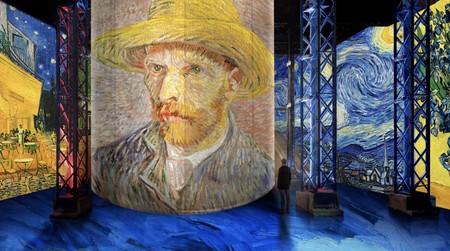Van Gogh se vuelve digital y por primera vez nos permite sumergirnos en sus paisajes gracias a una asombrosa exhibición inmersiva