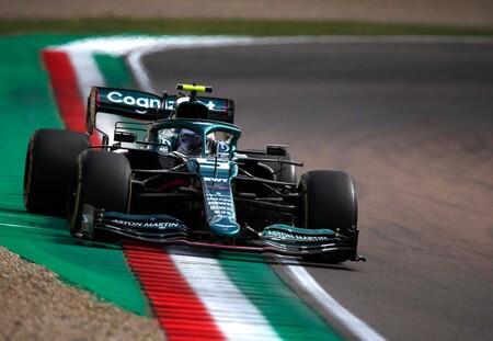 Vettel Imola F1 2021