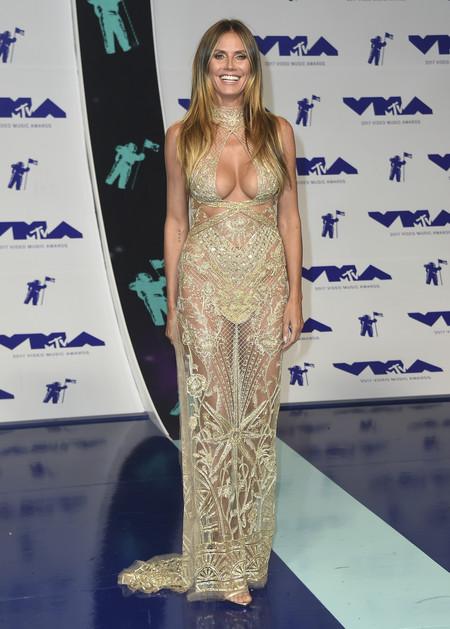 mtv vma video music awards 2017 alfombra roja red carpet heidi klum