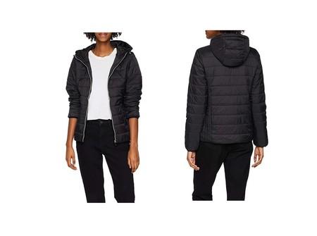 El abrigo para mujer New Look Luna en negro está rebajado a 14 euros en Amazon