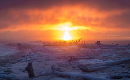 'Year of the Sunrise', todos los amaneceres de 2019 en Michigan (EE.UU) en un proyecto personal del fotógrafo Bugsy Sailor