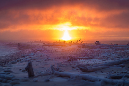 'Year of the Sunrise', todos los amaneceres de 2019 en Michigan (EE.UU) en un proyecto personal del fotógrafo Bugsy Sailor