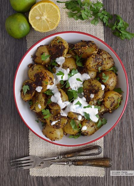 Ensalada de Patata y Semillas