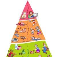 Pirámide NAOS para adoptar un estilo de vida saludable