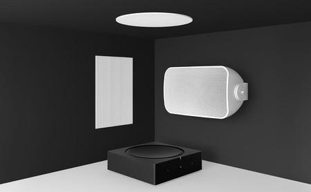 Sonos apuesta por integración en la decoración del hogar con su nueva línea de altavoces empotrados Architectural