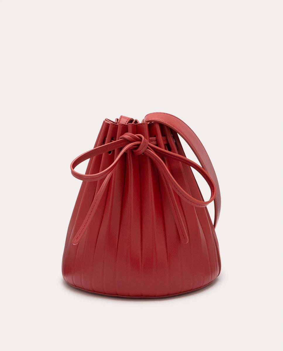 Bolso saco plisado
